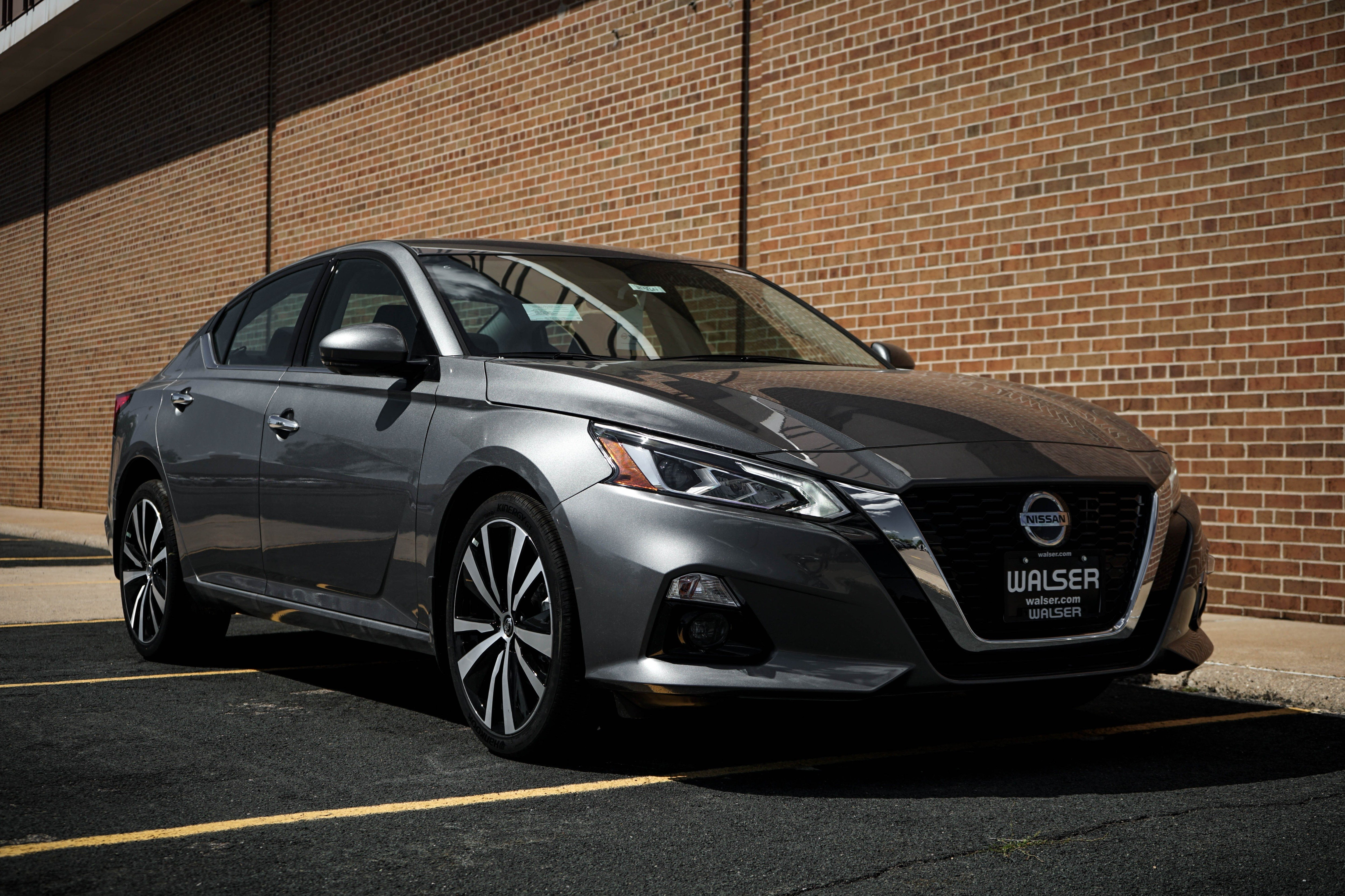 New 2020 Nissan Altima 2 5 Platinum Awd Awd