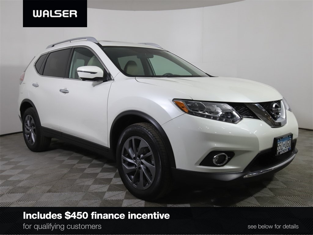 Certified Pre-Owned 2016 Nissan Rogue SL PREM AWD