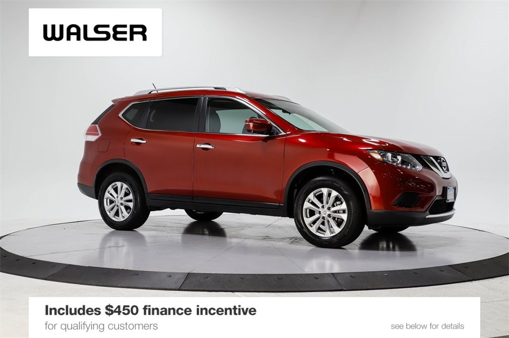 Certified Pre-Owned 2016 Nissan Rogue SV PREM MOON AWD
