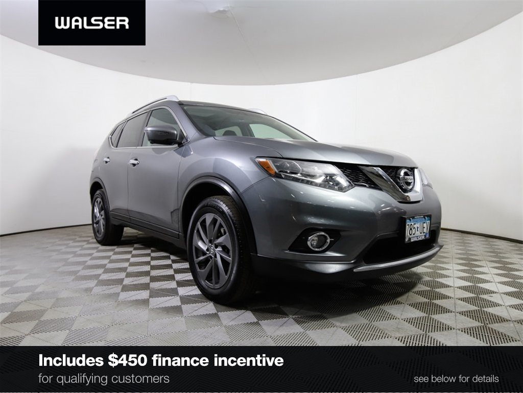 certified pre owned 2016 nissan rogue sl sport utility in burnsville rh walsernissan com