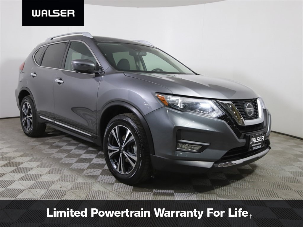 Pre-Owned 2018 Nissan Rogue SL AWD NAV