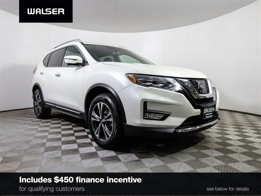 Certified Pre-Owned 2017 Nissan Rogue SL PREM NAV PANORF