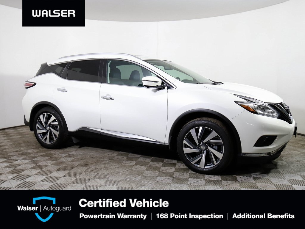 Certified Pre-Owned 2015 Nissan Murano Platinum w/ Technology Package