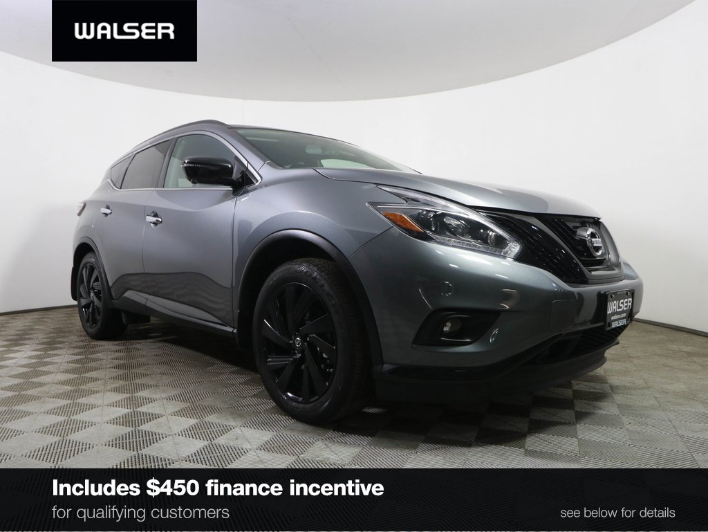 Certified Pre-Owned 2018 Nissan Murano SL MIDNIGHT!