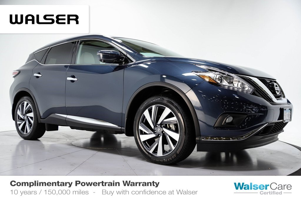Pre-Owned 2017 Nissan Murano PLATINUM TECH AWD