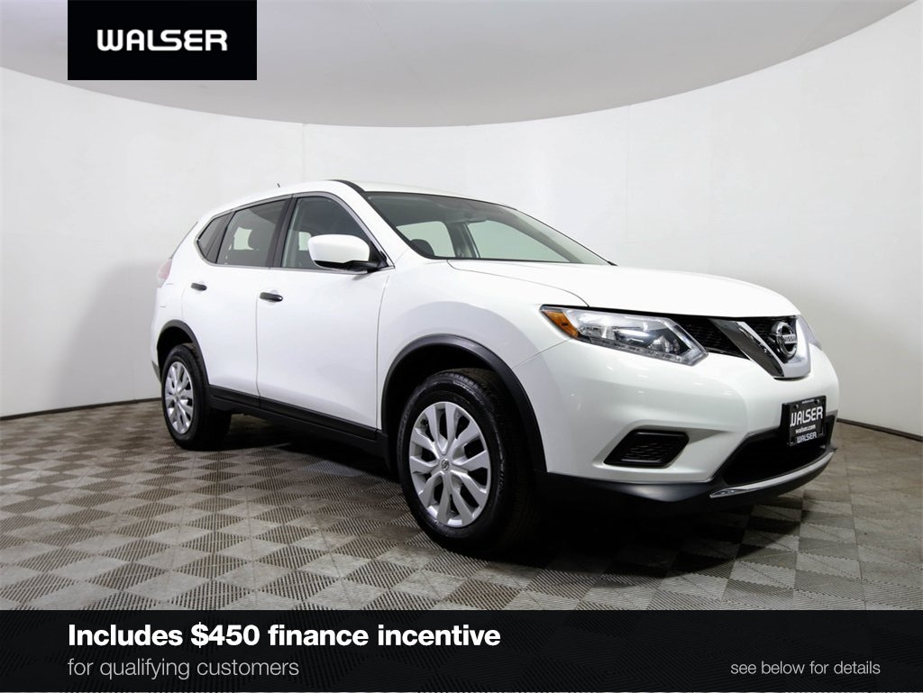 Certified Pre-Owned 2016 Nissan Rogue S AWD BCAM