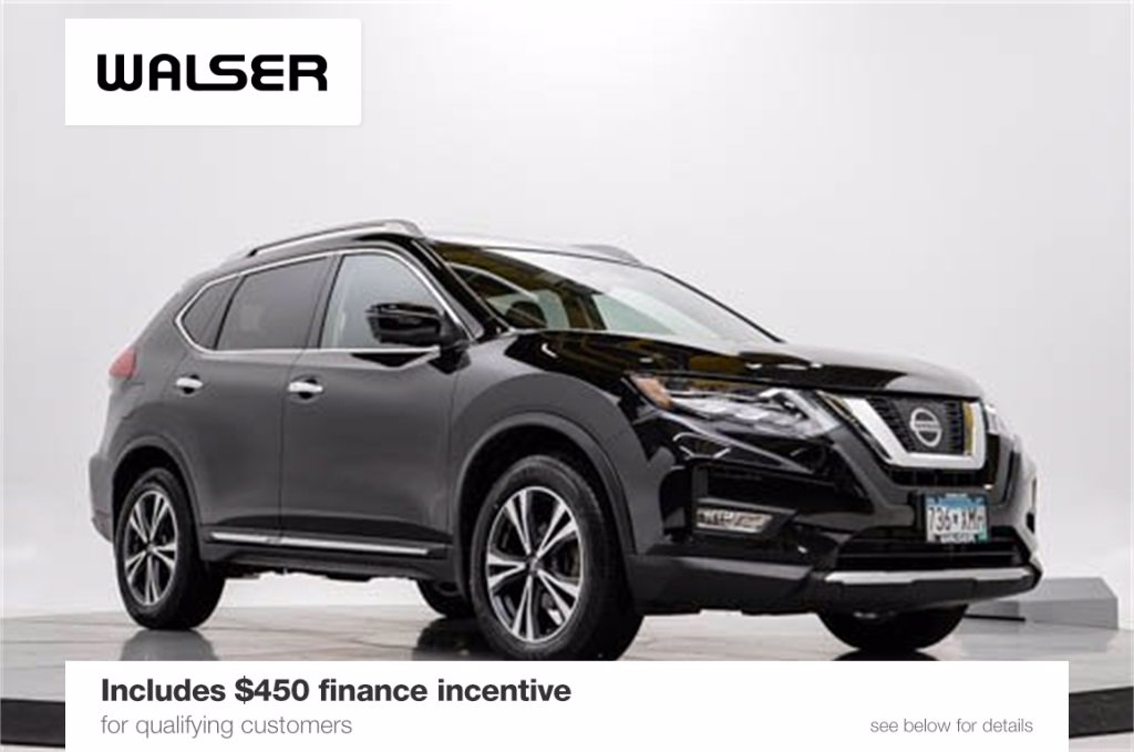 Certified Pre-Owned 2017 Nissan Rogue SL PREMIUM AWD