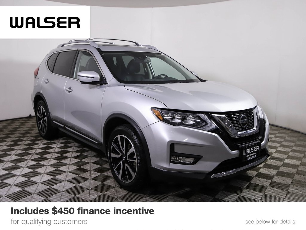 Certified Pre-Owned 2018 Nissan Rogue SL PREM PLTNM AWD