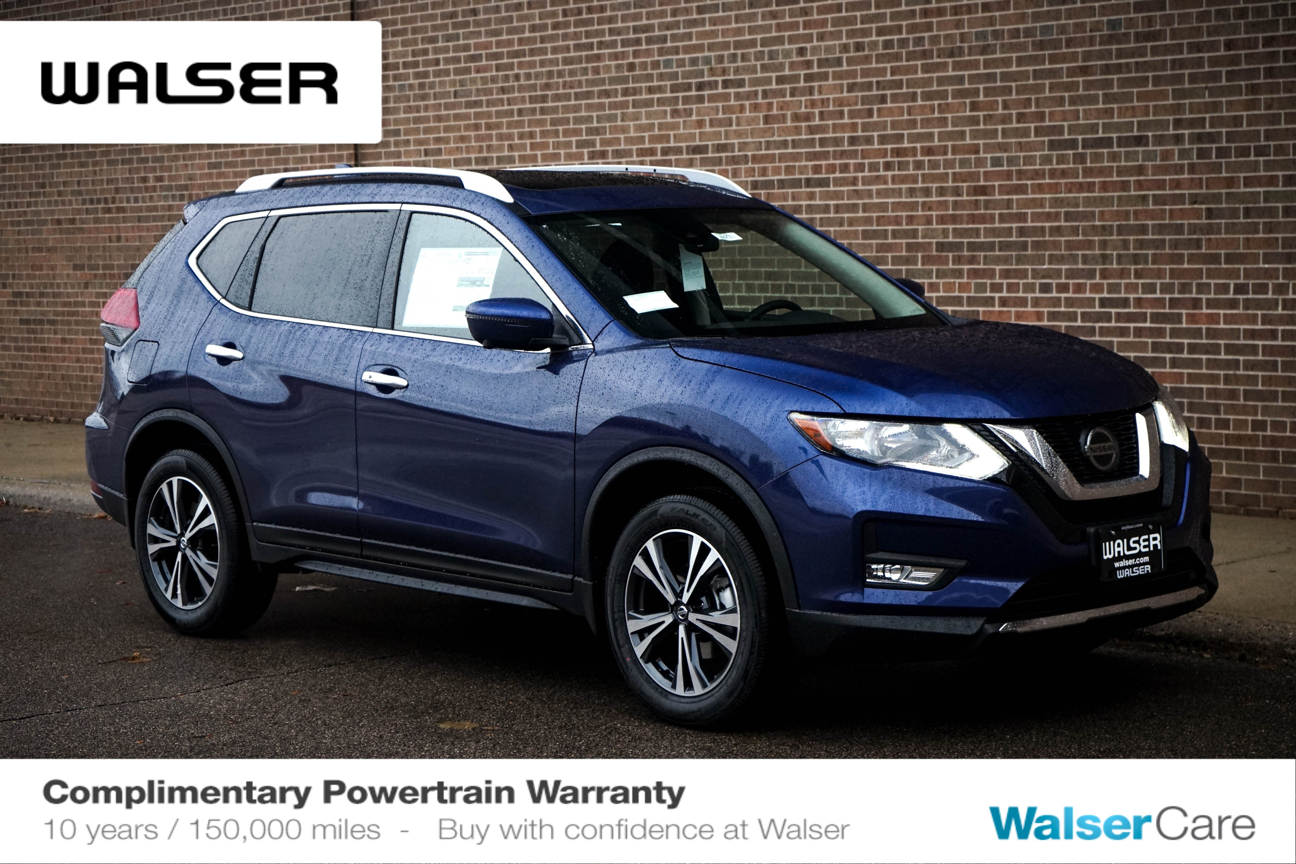 New 2020 Nissan Rogue SV SUN & SOUND PKG AWD