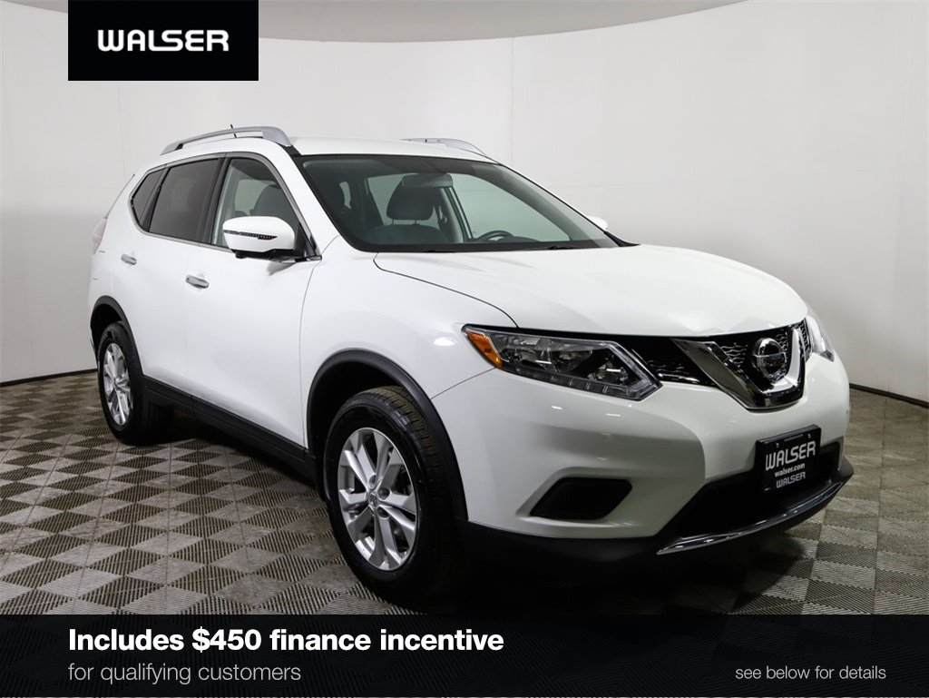Certified Pre Owned 2016 Nissan Rogue Sv W Premium Package