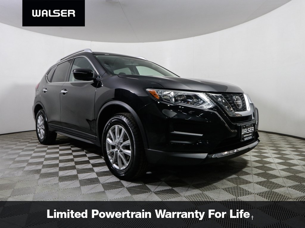 Certified Pre-Owned 2018 Nissan Rogue SV AWD BCAM