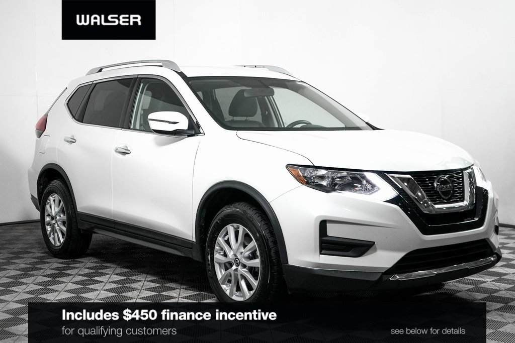Certified Pre-Owned 2018 Nissan Rogue SV AWD