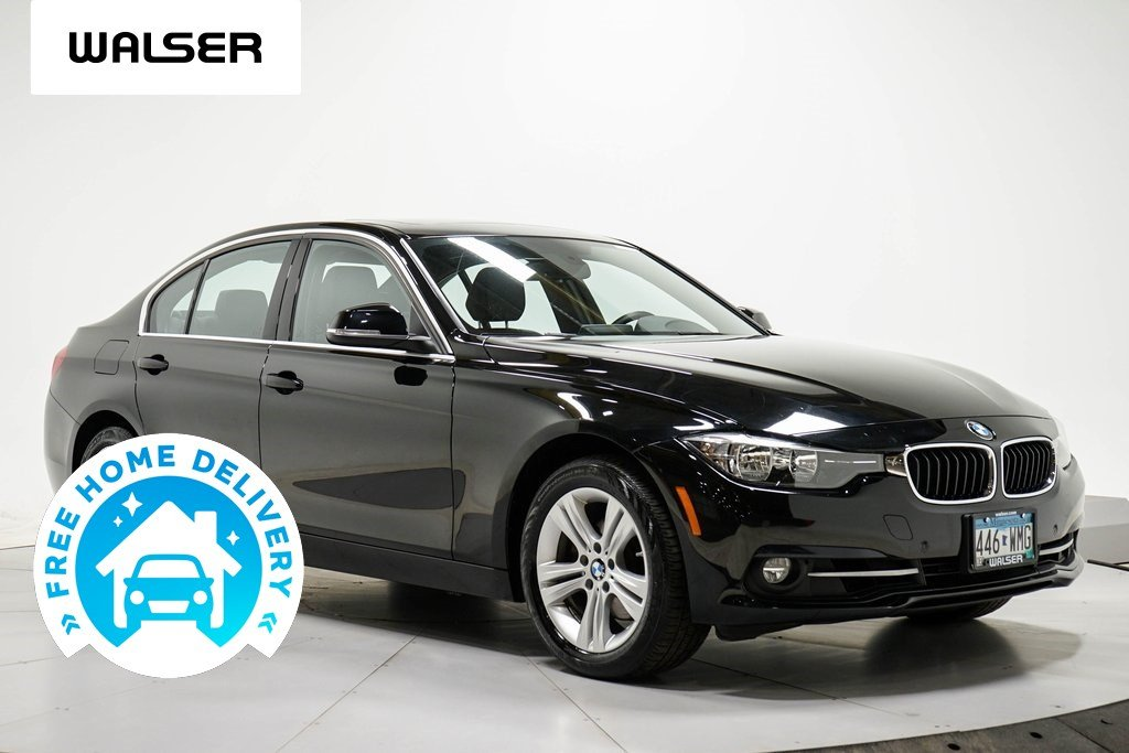Pre-Owned 2017 BMW 3 Series 330i MOON HTSEATS