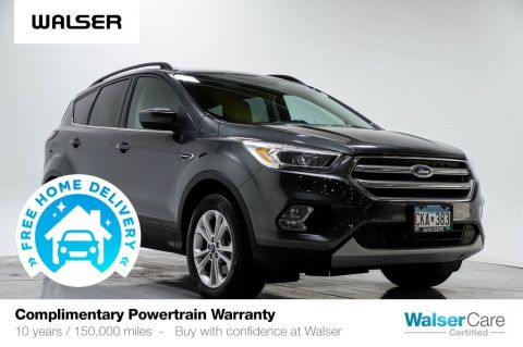Pre-Owned 2017 Ford Escape SE TECH LTHR