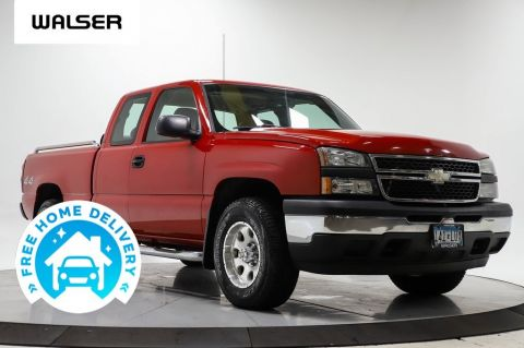 Pre-Owned 2006 Chevrolet Silverado 1500 1500 EXT CAB 4WD