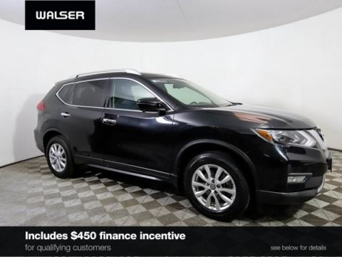 Certified Pre-Owned 2017 Nissan Rogue SV PREMIUM FAMILY