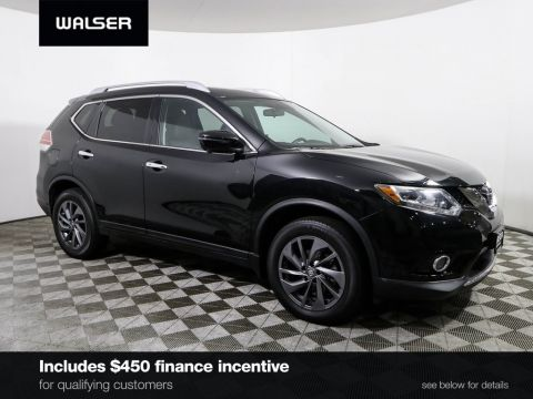 Certified Pre-Owned 2016 Nissan Rogue SL PREM NAV MR