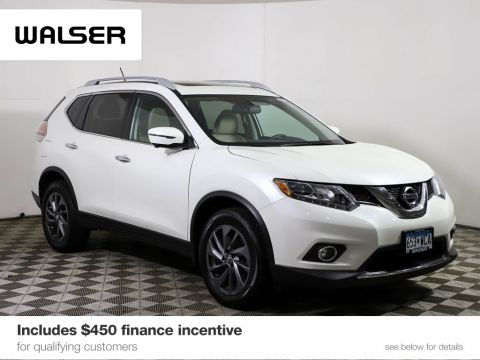 Certified Pre-Owned 2016 Nissan Rogue SL PREMIUM AWD