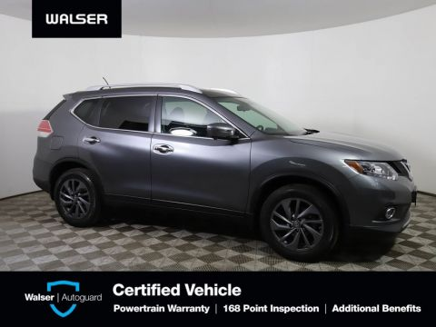 Certified Pre-Owned 2016 Nissan Rogue SL PREM NAV PANORF