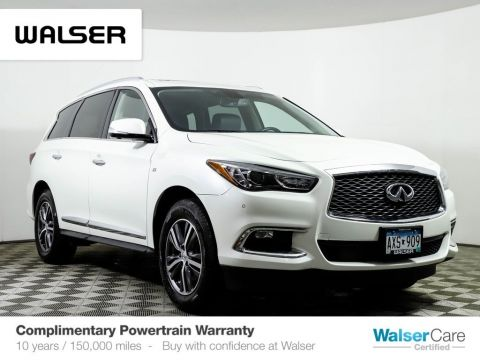 Pre-Owned 2017 INFINITI QX60 DVD NAV PREM PLUS