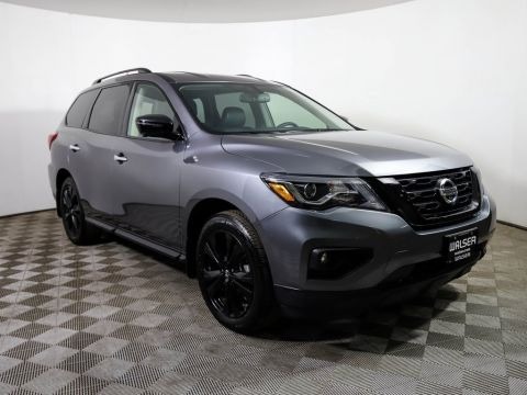 Certified Pre-Owned 2018 Nissan Pathfinder SL Midnight Edition