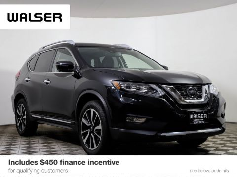 Certified Pre-Owned 2018 Nissan Rogue SL PLTNM NAV MR