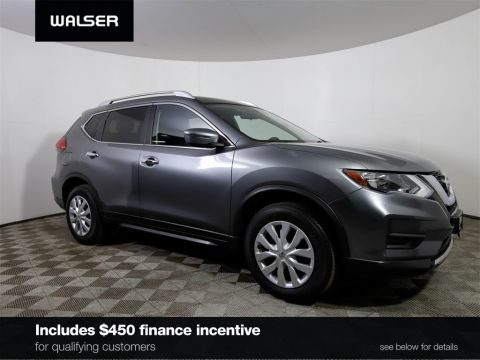 Certified Pre-Owned 2017 Nissan Rogue S w/ Appearance Package