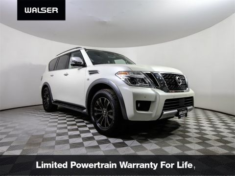 Certified Pre-Owned 2018 Nissan Armada PLTNM NAV MR QUADS