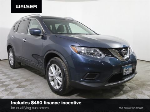 Certified Pre-Owned 2016 Nissan Rogue SV AWD BCAM
