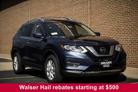 New 2019 Nissan Rogue SV AWD